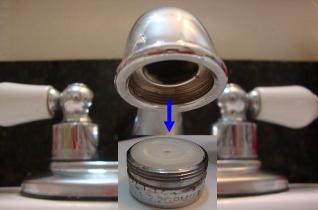 1 4 Ro Tube Quick Connector For Bathroom Sink Pt Aerator Q